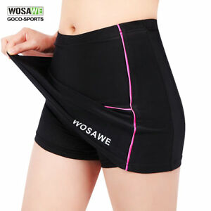WOSAWE-Womens-Sports-Cycling-Bike-Bicycle-Pro-Skort-Short-Skirt-Gel-Padded-S-XL