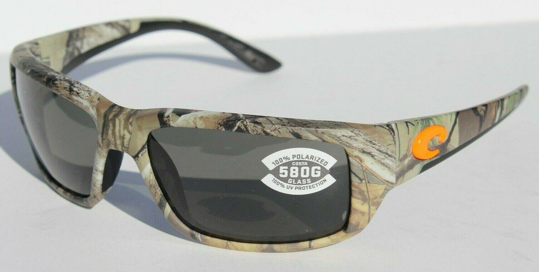 Costa Del Mar Fantail Polarized Sunglasses 580G Mossy Oak SGB//Gray Glass Camo