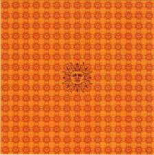 Tribute to ORANGE SUNSHINE - BLOTTER ART Perforated Sheet acid free paper art
