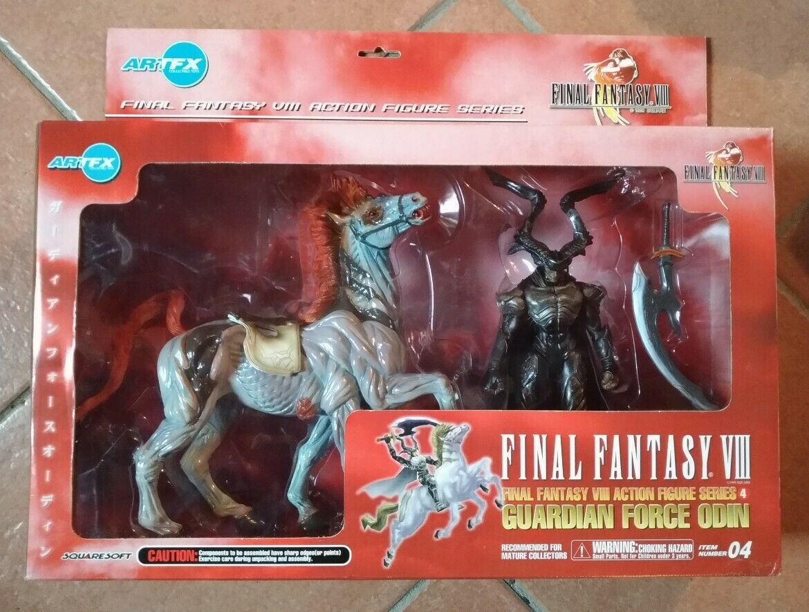 Final Fantasy VIII Figure Guardian Force Series 4  ODIN  NEW  Kotobukiya ArtFX