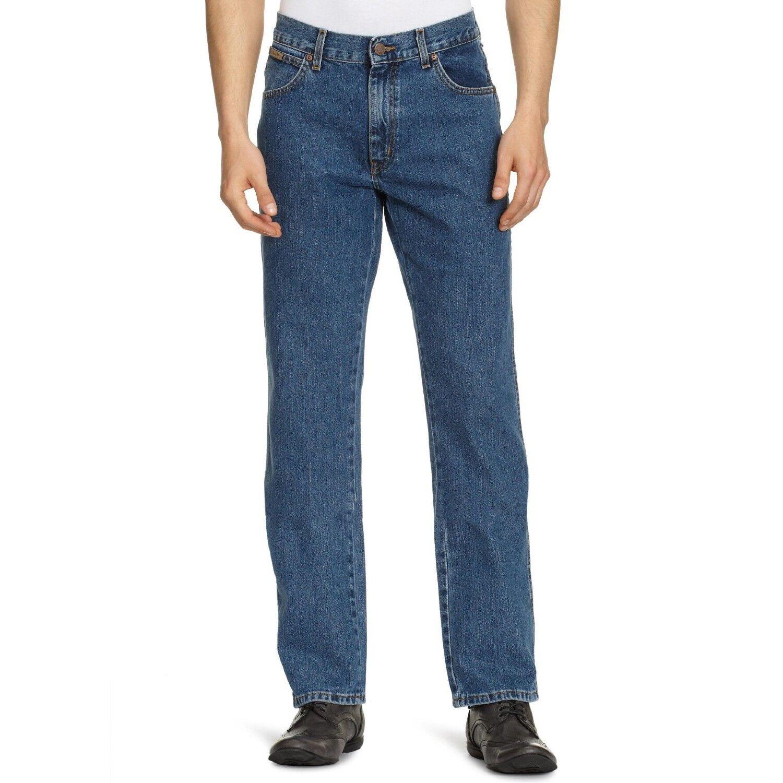 Wrangler Texas Stonewash Jeans Straight leg Waist 30 - 46 all sizes available