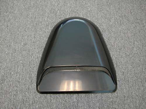 Black Air Flow Hood Scoop Honda Accord 90-03 4 Cylinder V6 All