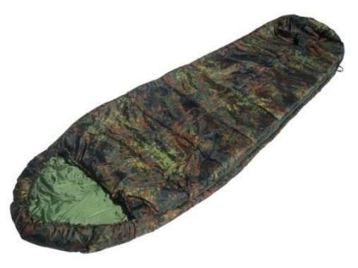 German camouflage commando sleeping bag with hood-german  army type  classic style