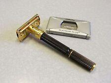 Vintage O-4 1969 Gillette 109 Gold Super Adjustable Safety Razor