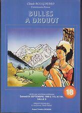 Catalogue Vente BD Bulles à Drouot 18. 18 septembre 1999. Superbe