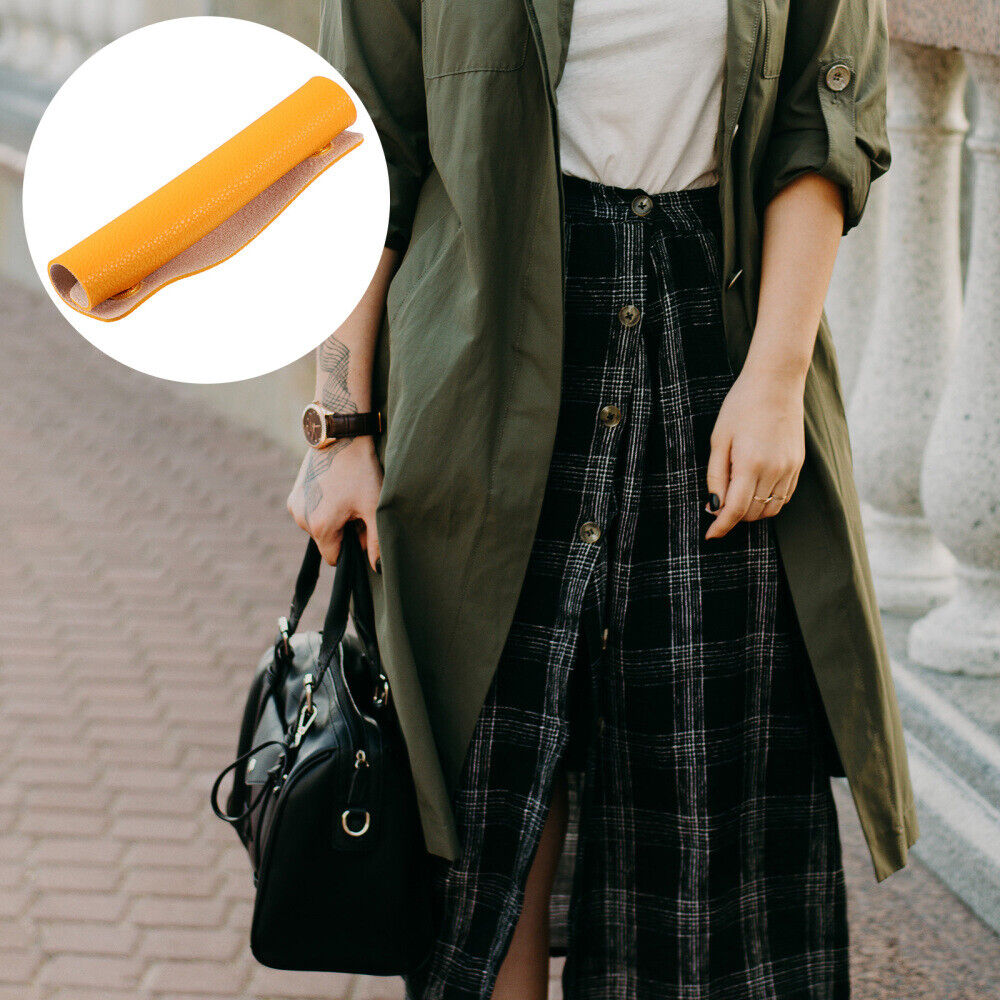 1PC Luggage Handle Wrap Handbag Handle Cover PU Leather Sleeve Bag Accessory