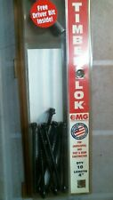 Mg Timber Lok 4 Screws For Landscaping Amp Post Amp Beam Construction Free Ship