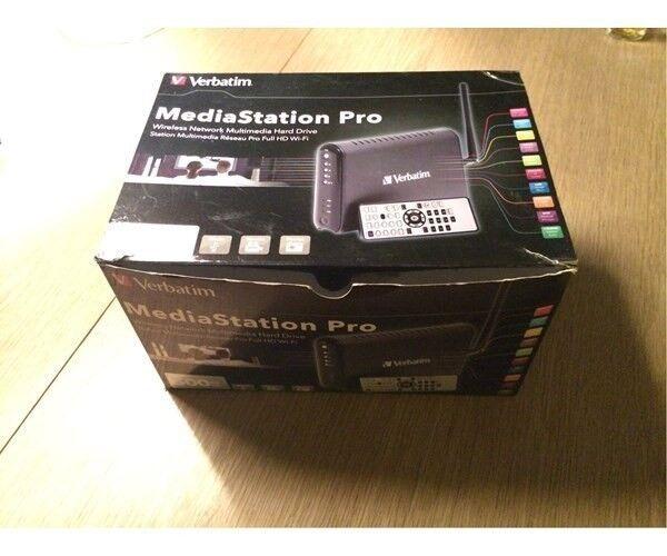 Verbatim Mediastation Pro, ekstern, 500 GB
