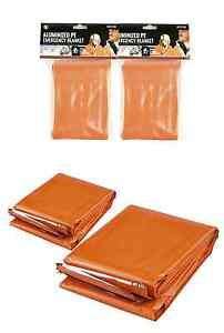 2 orange heavy duty mylar emergency cold weather survival blanket image is loading 2 orange heavy duty mylar emergency cold weather publicscrutiny Gallery