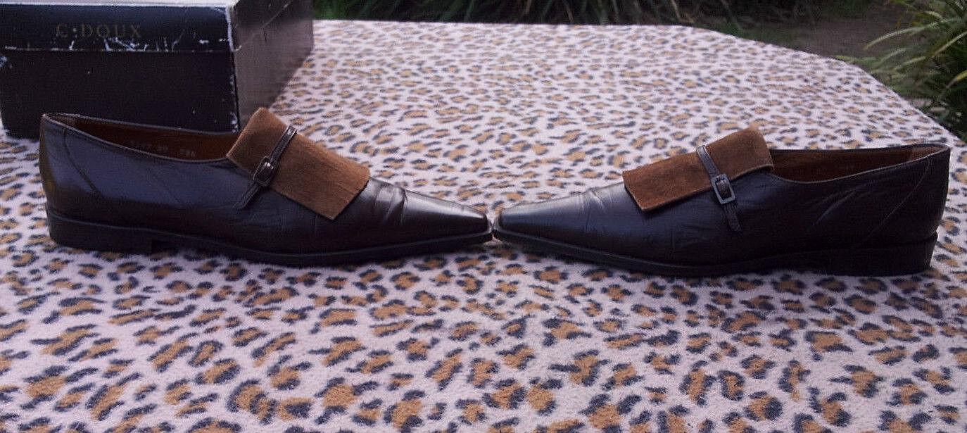 Vintage C Doux Marrón Cuero Pixie Pixie Pixie Zapatos Uk Talla 5 EU 38  Entrega gratuita y rápida disponible.