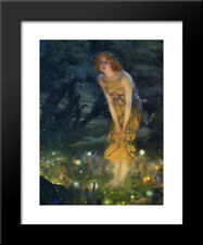 ARTCANVAS Midsummer Eve 1908 Canvas Art Print by Edward Robert Hughes