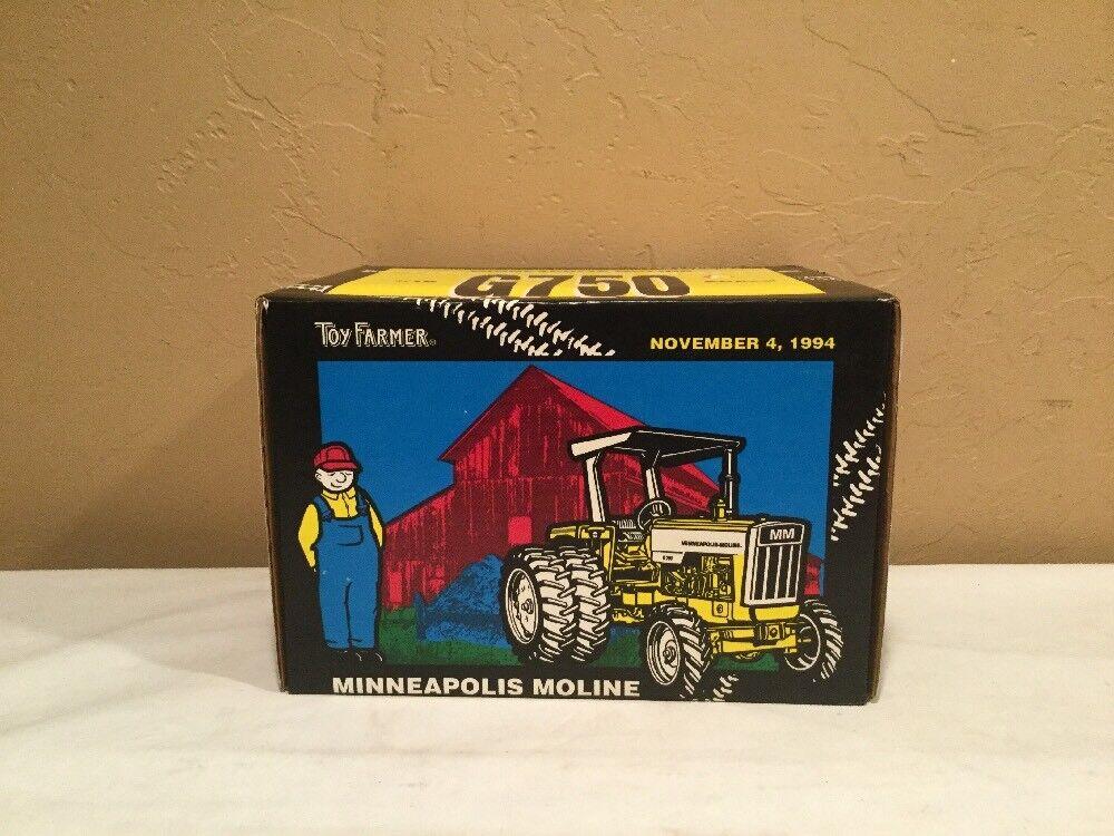 seguro de calidad Ertl Diecast 1 16 Juguete Granjero Minneapolis Moline G750 G750 G750 doblemente Tractor con dosel Nuevo En Caja  Centro comercial profesional integrado en línea.