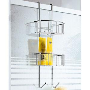 duschregal duschablage h ngeregal badregal h ngeablage regal bad dusche ebay. Black Bedroom Furniture Sets. Home Design Ideas