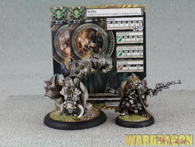 30mm&50mm Hordes WDS painted Minions Solos Rorsh & Brine f1