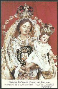 image pieuse postale de la Virgen del Carmen santino holy card estampa m8KrRQjV-08050957-201240998