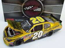 Brian Vickers 2013 Dollar General Serial #20 Door Number Car Color C 1/24 Signed