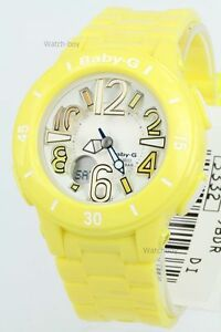 BGA-170-9B-Yellow-Casio-Baby-G-Watch-Analog-Digital-Resin-Band-100m-Box-Packy