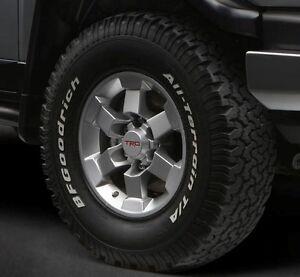 "Toyota Tacoma 4x4 & PreRunner 1995-2021 TRD 16"" Silver Alloy Rims Set - OEM NEW!"