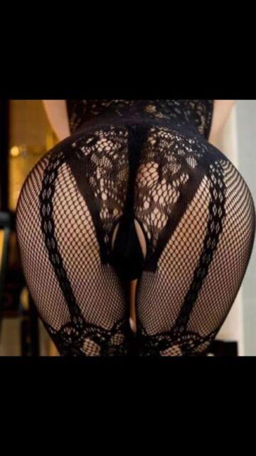 Sexy Lingerie Ladies Intimate Fishnet Bodystocking Dress Erotic Stripper