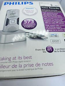 Philips-LFH0888-Digital-Voice-Tracer-Recorder-Dictaphone-Dictation-FM-Radio-USB