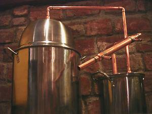 5 Gallon Steel Copper Pot Still Boiler Amp Thumper Distill
