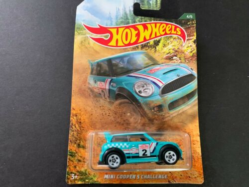 Hot Wheels Mini Cooper S Challenge Rally Racing 1//64