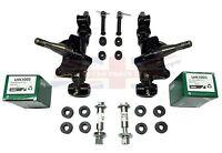 100% Swivel Axle Assembly Set + Bearings +poly Bushings+ Trunnions Mgb 63-80