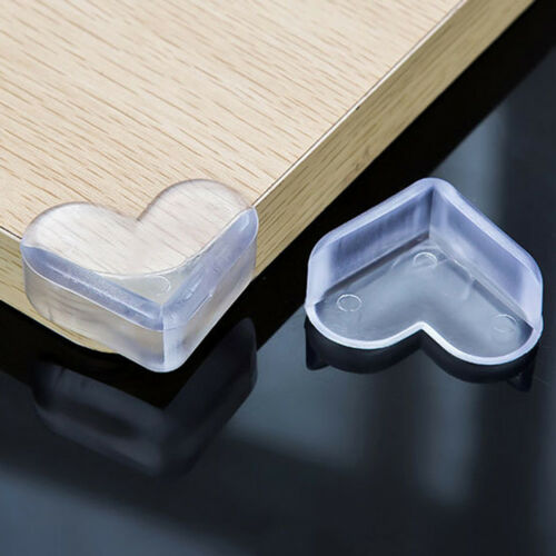 10Pcs Child Baby Safe silicone Protector Table Corner Edge Protection Cover