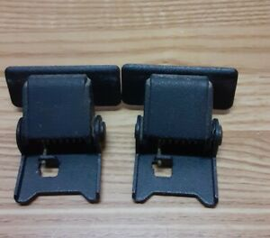 2-OEM-Dust-Cover-Spring-Hinges-for-a-Pioneer-PL200-Or-PL200X-Turntable