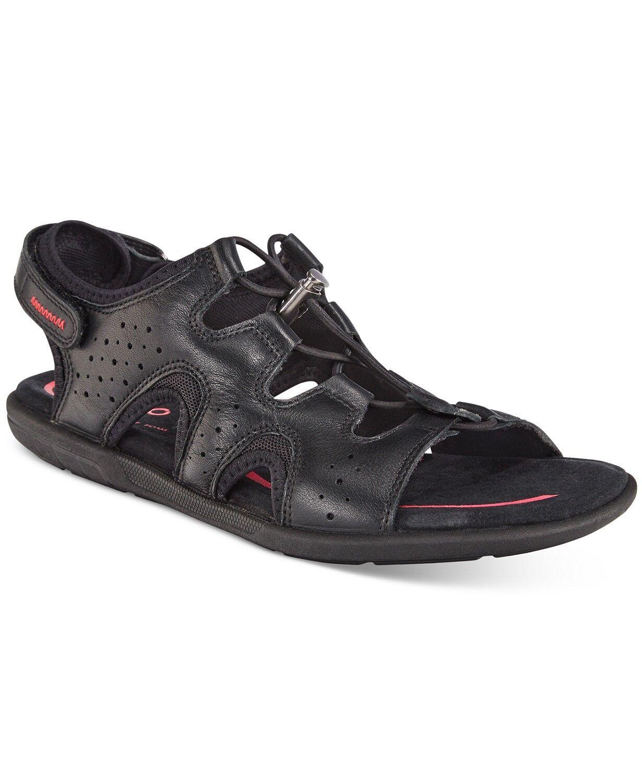 NEW Women's ECCO bluema Toggle Sandals US 9.5-10 EU 40 BLACK