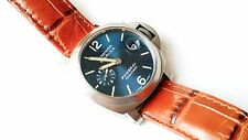 Panerai PAM282 Titanium Luminor Marina Limited Edition Watch Blue Dial 40mm 282