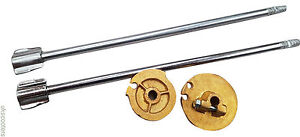 ukscooters-LAMBRETTA-GEAR-THROTTLE-PULLEY-BRASS-CONTROL-RODS-LI-3-SPLINED-312MM