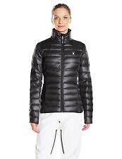 NWT Women's Black Spyder Prymo Down Jacket Ski Size X-Small  XS Free Shipping