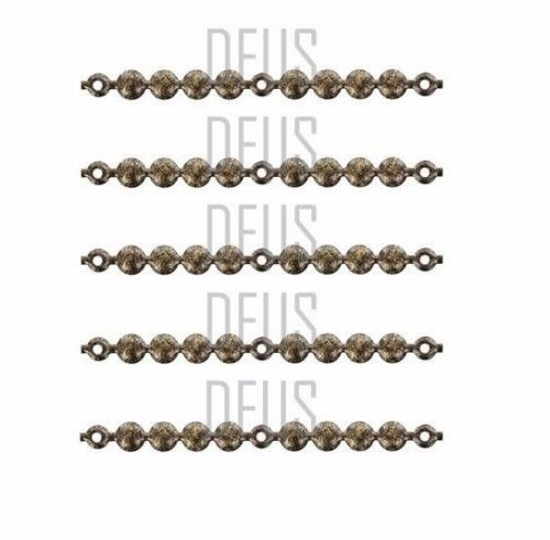 Decorative Upholstery Nail strip stud OLD GOLD BLACK 9.5mm or 20mm head