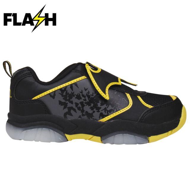 8e9fa4a8e0a82d Character Kids Light up Infants Trainers Boys Reinforced Shoes ...