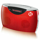 PYE PR277 AM/FM Portable Radio - Red