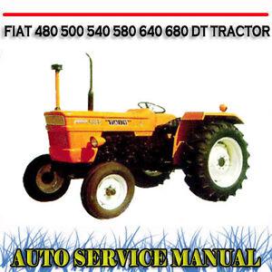 fiat 640 tractor hydraulic system