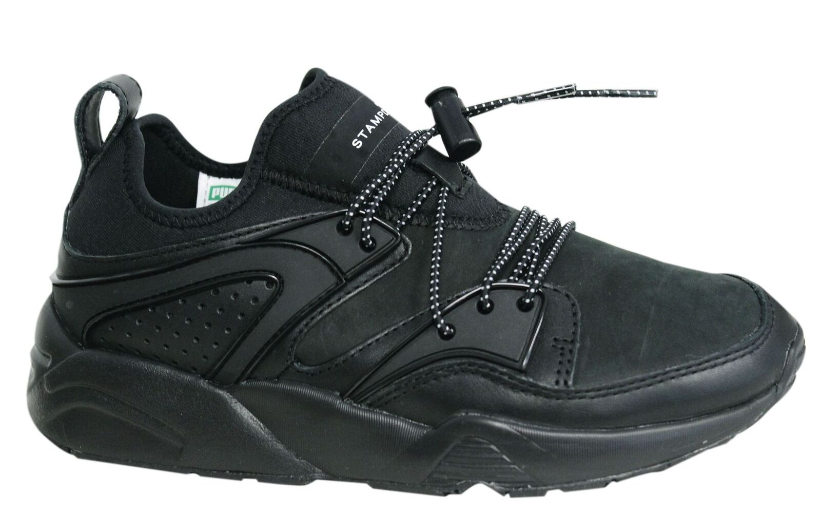 Puma Blaze of Glory X Stampd Toggle jusqu 'en CUIR NOIR Baskets Homme 359806 02 U8