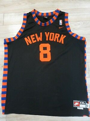 Memorabilia Basketball Latrell Sprewell 1952 New York Knicks Nba Nike Retro Rewind Jersey 2xl 2x New Varieties Are Introduced One After Another