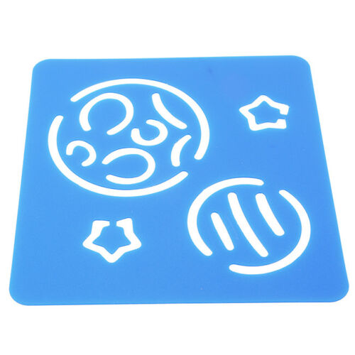 6X Cartoon Scrapbook Painting Stencils Embossing Template Kid Learning Toy CB
