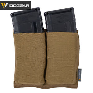 IDOGEAR-Tactical-5-56-Magazine-Pouch-Fast-Draw-Double-Mag-Pouch-MOLLE-Airsoft