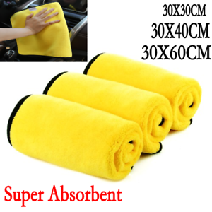 Car-Wash-Microfiber-Towel-Auto-Cleaning-Drying-Cloth-Hemming-Super-Absorbent-MA