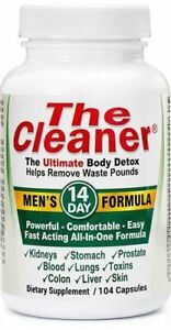 Century-System-039-s-The-Cleaner-Men-s-Formula-14-Day-Ultimate-Body-Detox-104-Caps