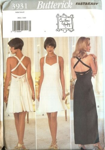 OOP Butterick Sewing Pattern Misses Formal Prom Party Dress Gown You Pick