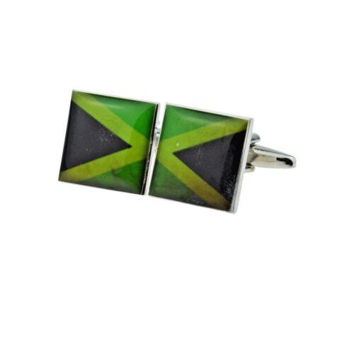Bandera de aspecto envejecido Jamaica Split Gemelos jamaicano X 2 y 220