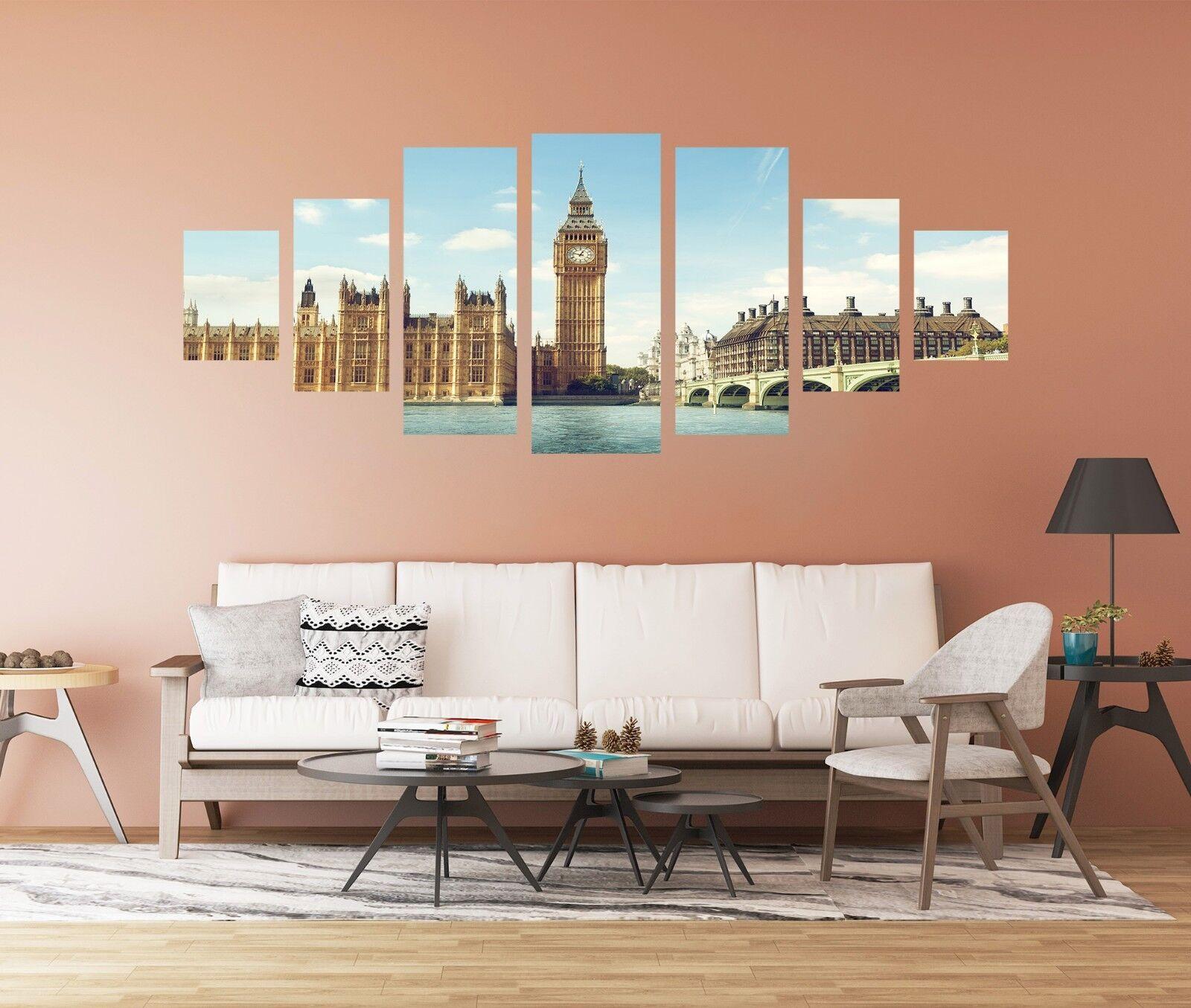 3D Big Ben 750 Unframed Print Wall Paper Decal Wall Deco Indoor AJ Wall Jenny