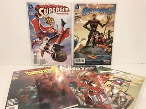 DC-Comics-Harley-Quinn-Variant-Lot-Aquaman-Flash-Supergirl-and-More