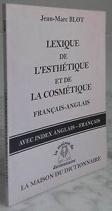 2002 Lexicon DE Estética Cosméticos Franc.anglais París IN8 Demuestra Tbe