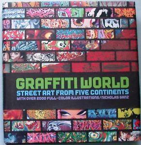 Graffiti-World-Street-Art-from-five-Continents-2000-Coloraufnahmen-Strassenkunst