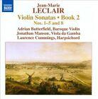 Jean-Marie Leclair: Violin Sonatas, Book 2 (CD, Jul-2013, Naxos (Distributor))